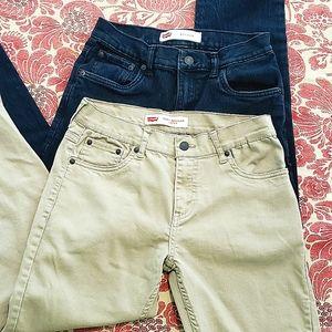 Size 16 boys' Levis jeans